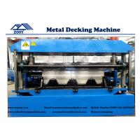 China YX90-262-829 Floor Deck Roll Forming Machine For 0.8-1.6mm Thickness PPGI Sheet wholesale