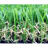 China Field / Olive Green Playground Artificial Turf False Grass Lawns Anti-UV wholesale