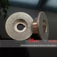 China Electroplated CBN Grinding Wheel For  Gerber & Bullmer CNC Cutter wholesale