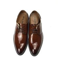 China Calf Skin Men Leather Classic Shoes Lace up Durable Dress Shoes with rivet wholesale