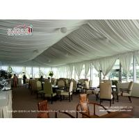 China Exquisite Arcum Outdoor  Event Tents 10x20m With Glass Wall For Golf on sale