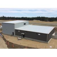 Buy cheap Single Slope Prefabricated Shop Buildings Metal Shed Workshop With High And from wholesalers
