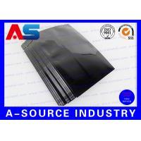 Tablet Aluminum Zip Lock Bag Pounch Plastic Blister Packaging 9*6 cm Size Black Color Wholesale