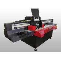 Buy cheap Digital Wide Format Flatbed Printer For TPU PVC / Leather Printing High Speed from wholesalers