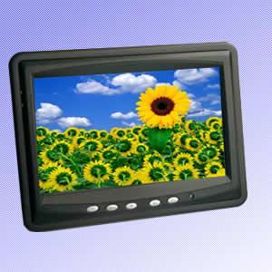 China 8 LCD Touch Screen Monitor (VGA, AV, HDMI, Car Kit) wholesale