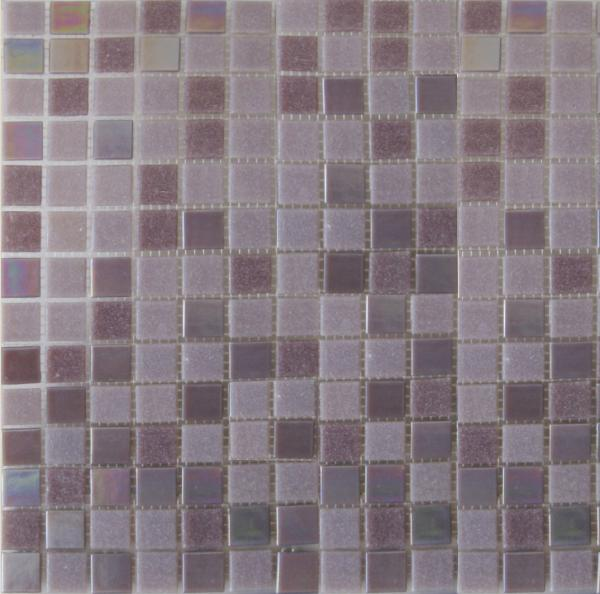 Quality swimming pool glass mosaic tiles KG214 chip size 20*20/ sheet size 327*327, 4mm thickness for sale