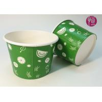 China 22oz Frozen Yogurt  Disposable Ice Cream Cups With Dome Lid wholesale