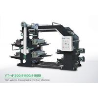 Buy cheap Energy Saving Four Color Flexo Printing Machine / Large 4 Color Printing Press from wholesalers