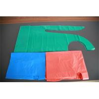 China Polythene Disposable Medical Aprons , Throw Away Aprons For Hygiene Nursing wholesale