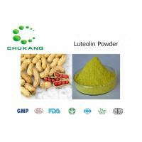 China Nature Herbal Ingredients Luteolin Arachis hypogaea L Anti Inflammatory And Antibacterial Effects wholesale