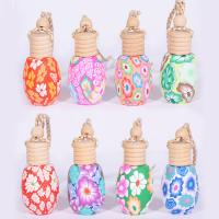 12-15ml polymer clay perfume bottle car accessories tourist crafts