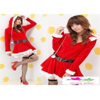 Buy cheap Xmas gift Womens Santa Claus Christmas Costume Cosplay Outfit Fancy Dress Set from wholesalers