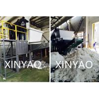 China Removable Hopper Automatic Plastic Shredder Machine For Waste PET Filament wholesale