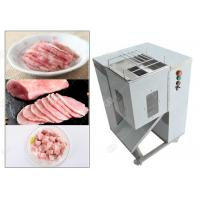 China Cooked Meat Cube Cutting Machine Manual For Meat Silk Processing , Stainless Steel wholesale