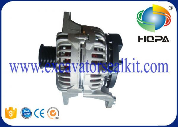 Quality VOE11170321 Diesel Generator Alternator , 28V 80A 0124 555 020 Articulated Hauler for sale