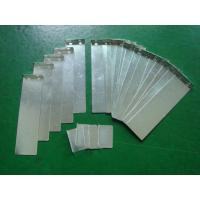 China High Precision Metal Stamping , Copper Tin Plating Stamping Foil Parts on sale