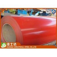 China Red Cold / Hot Rolled GI Steel Coil , PPGI Steel Sheet Roll Roofing Materials wholesale