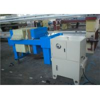 China Automated Hydraulic Plate And Frame Filter Press Equipment For Sludge Treatment on sale