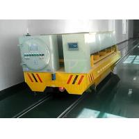 China Metal industrial electric rail turntable handling wagon for steel plate or matel coils on sale