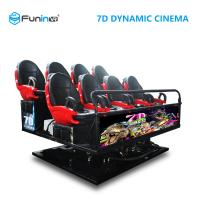 China 6 DOF Movement 8D / 9D / Xd Cinema / 5D Movie Theater Equipment wholesale