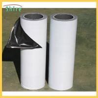 China Low Adhesion Black&white Protective Film For Mirror Polished Stainless Steel Sheet wholesale