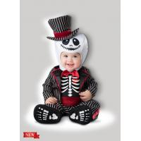 China Lil' Skeleton Infant Baby Costumes for Halloween Christmas Party Carnival Fancy Dress wholesale