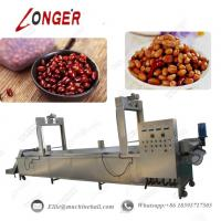 China Peanut Continuous Frying Machine Automatic Peanut Continuous Frying Machine Commercial Peanut Fryer Continuous Fryer wholesale