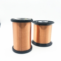 China 46 Awg 0.04mm Magnetic Polyurethane Enameled Copper Wire For Transformer wholesale