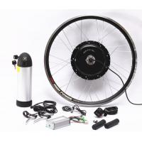China 1500W Electric Mountain Bike Conversion Kit With Lithium Baterry And LCD Display on sale