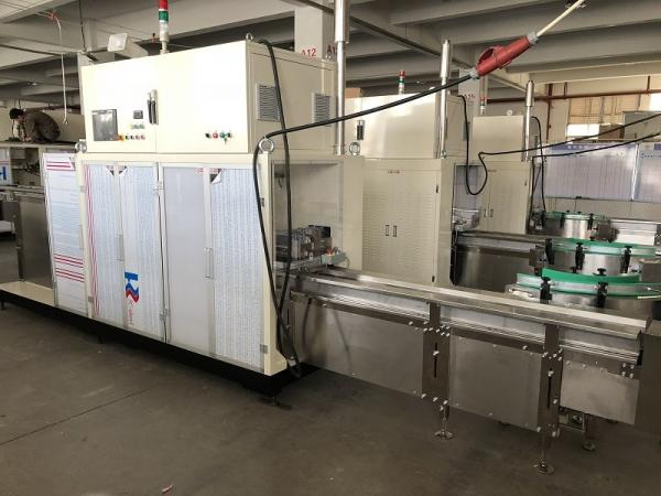 Quality Full Auto Pre-Made Bags Sanitary Towe Packaging Machine L6.3m×W1.5m×H2.0m Size for sale