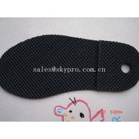 China Men and women sole diamond pattern Durable TPR rubber sheets for shoe soles / outsole wholesale