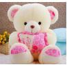 China ICTI Approved Toy factory Wholesale Mini Cute Yellow Teddy Bear Stuffed Custom Small Clothes Teddy Bear Plush Toy wholesale