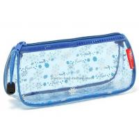 China Zipper Closing PVC Cosmetic Bag Cute Appearance With Heat Sealed Process wholesale