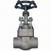 China Outside Screw & Yoke Forged Steel Globe Valve Swivel Plug Integral Seat API 602 wholesale