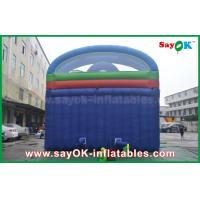 China Kid Pvc Tarpaulin Jumping Bouncer Castle Inflatable With Water Slide wholesale
