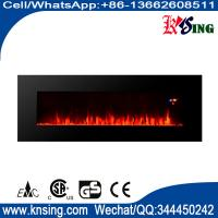"""50"""" long linear wall mounted fireplace WF-50FS 2000W real flame comfort smart space heater indoor room decoration"""