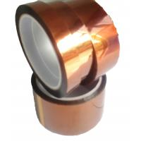 China Dark Brown Polyimide Film Tape With Low Electrostiatic Discharge Properties wholesale