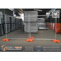 China 2.1m high Temporary Fence Panels for construction site 14microns hot dipped galvanized zinc layer wholesale