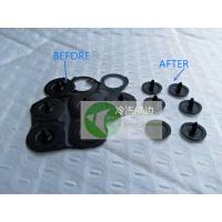 China Case Study: Deflashing/Deburring machine for Mini Size Rubber Stopper, Plug; Deep Cold Technology;Cooling Process; on sale