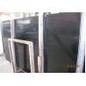 China Black Wood Marble Wall Slab , 20mm Marble Stone Tile Vein Cut / Cross Cut wholesale