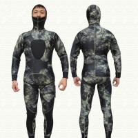 China Wholesale 3MM CAMO Neoprene Spearfishing Diving Suit on sale