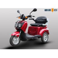 Electric Scooters Handicapped Adults , Outdoor 3 Wheel Mobility Scooter