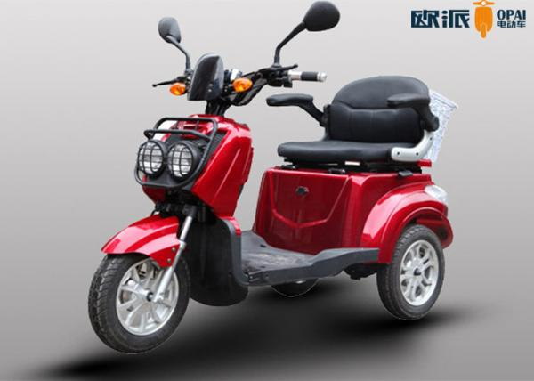 Quality Electric Scooters Handicapped Adults , Outdoor 3 Wheel Mobility Scooter for sale