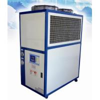 China Scroll Compressor Air Cooled Water Chiller , Low Noise Fan Motor wholesale
