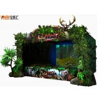 Buy cheap 4D Crazy Hunting VR Shooting Simulator Green Color 12 Months Warranty from wholesalers
