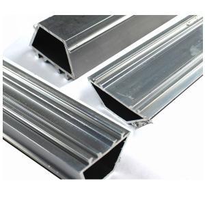China Popular Anodized Aluminum Profiles Rectangle Aluminium Tile Trim For Heat Sink on sale
