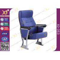 China Resistant Noise Reducing Surface Auditorium Theater Seating Gravity Return Lecture Hall Chair wholesale
