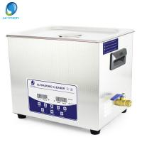 China JP -040T 10L Degass Digital Ultrasonic Cleaner / Ultrasonic Jewellery Cleaners Commercial on sale