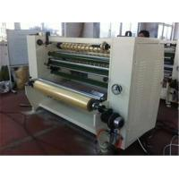 China Stationary Bopp Tape Slitter Rewinder Machine For Double Sided Tape / Masking Tape wholesale