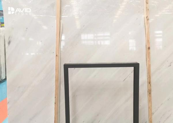 Quality Vietnam Quarry Shuitou Factory 18/20mm Star White Marble Slab Tile Anti Crack for sale